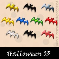 Free Halloween SnagIt Stamps, Scrapbooking Printables Download