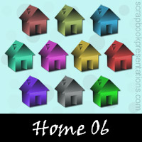 Free Homes Embellishments, Scrapbook Downloads, Printables, Kit