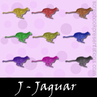 Free Jaguar SnagIt Stamps, Scrapbooking Printables Download
