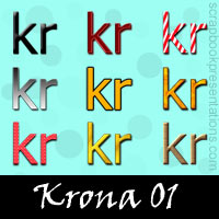 Free Krona Embellishments, Scrapbook Downloads, Printables, Kit