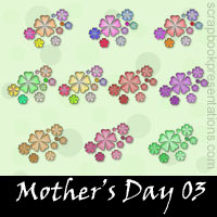 Free Mother's Day SnagIt Stamps, Scrapbooking Printables Download