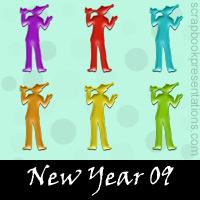 New Year Embellishments