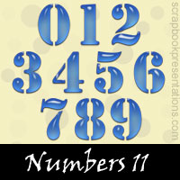 Free Numbers SnagIt Stamps Download