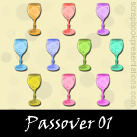Free Passover Embellishments, Scrapbook Downloads, Printables, Kit