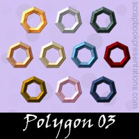 Free Polygon  Scrapbook Downloads, Kit, Printables, Embellishments