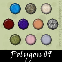Free Polygon SnagIt Stamps, Scrapbooking Printables Download
