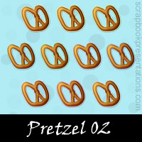 Free Pretzel Embellishments, Scrapbook Downloads, Printables, Kit