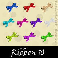 Free Ribbon Embellishments, Scrapbook Downloads, Printables, Kit