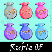 Free Ruble Embellishments, Scrapbook Downloads, Printables, Kit
