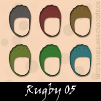 Free Rugby Embellishments, Scrapbook Downloads, Printables, Kit