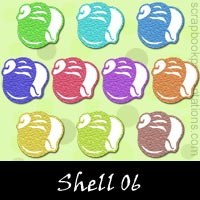 Free Shell Embellishments, Scrapbook Downloads, Printables, Kit