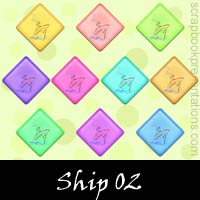 Free Ship SnagIt Stamps, Scrapbooking Printables Download