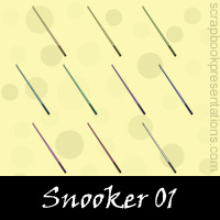 Free Snooker SnagIt Stamps, Scrapbooking Printables Download