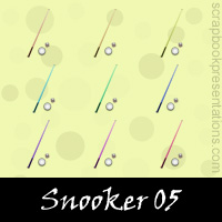 Free Snooker Embellishments, Scrapbook Downloads, Printables, Kit