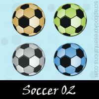 Free Soccer SnagIt Stamps, Scrapbooking Printables Download