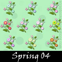 Free Spring SnagIt Stamps, Scrapbooking Printables Download