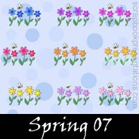 Spring Snagit Stamps