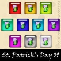 St. Patrick's Day Embellishments