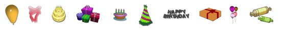 Free Birthday SnagIt Stamps, Scrapbooking Printables Download