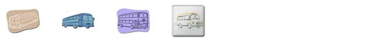 Free Bus SnagIt Stamps, Scrapbooking Printables Download
