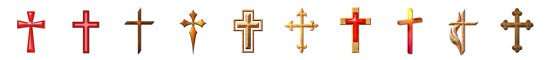 Free Cross Embellishments, Scrapbooking Printables Download