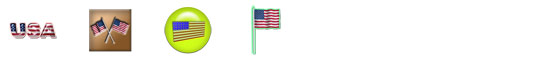 Free Flag Day (United States) SnagIt Stamps, Scrapbooking Printables Download