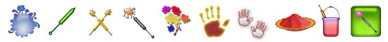 Free Holi SnagIt Stamps, Scrapbooking Printables Download