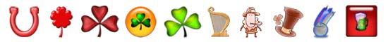 Free St. Patrick's Day SnagIt Stamps, Scrapbooking Printables Download