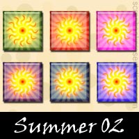 Free Summer Embellishments, Scrapbooking Printables Download, Printables, Kit