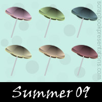 Free Summer SnagIt Stamps, Scrapbooking Printables Download