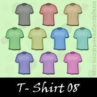 Free T-Shirts Embellishments, Scrapbook Downloads, Printables, Kit