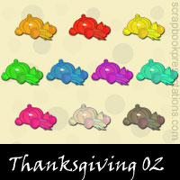 Free Thanksgiving SnagIt Stamps, Scrapbooking Printables Download