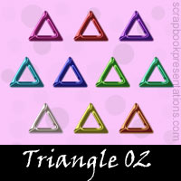 Free Triangle SnagIt Stamps, Scrapbooking Printables Download