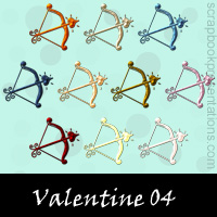 Free Valentine Embellishments, Scrapbook Downloads, Printables, Kit