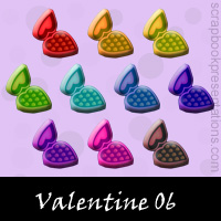 Free Valentine SnagIt Stamps, Scrapbooking Printables Download