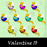 Valentine's Day Snagit Stamps