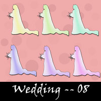 Free Wedding Embellishments, Scrapbook Downloads, Printables, Kit