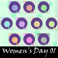 Women's Day Snagit Stamps