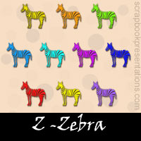 Free Zebra SnagIt Stamps, Scrapbooking Printables Download